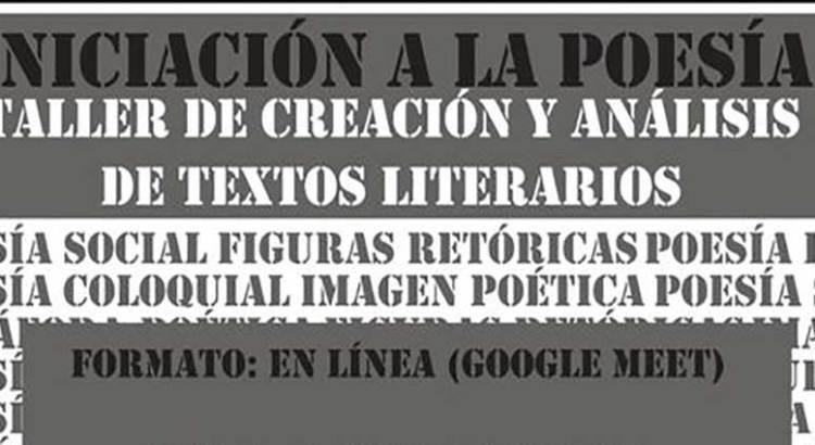 Invita el CMA a taller de poesía en línea
