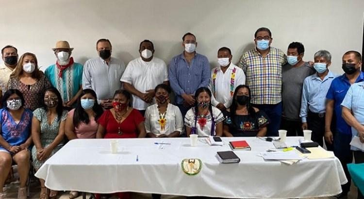 Brinda Colegio de Abogados apoyo a la Coordinadora del Movimiento Indígena y Afromexicano