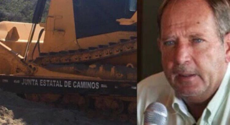 Se deslinda Lascurain Ochoa de la deforestación hecha con maquinaria de JEC