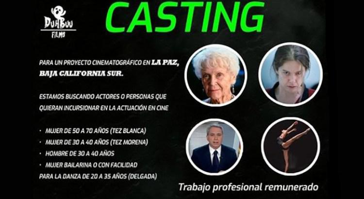 ¿Te interesa participar  en un proyecto cinematográfico?
