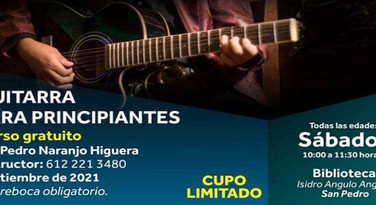 ¿Quieres aprender a tocar la guitarra?
