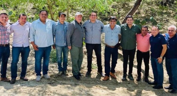 Se reunieron Oscar Leggs y Leonel Cota Montaño