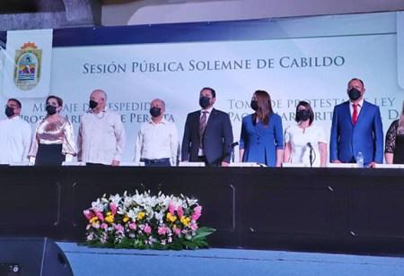 Rindió protesta Paola Cota como alcaldesa de Loreto