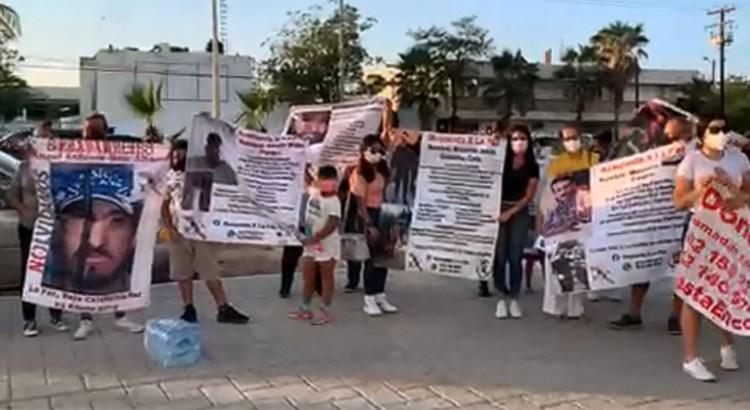 Se manifestaron Colectivos de Búsqueda de Personas Desaparecidas