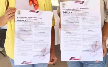 Invitan  a crear el logotipo y lema del INJUVE Los Cabos