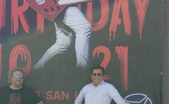 Festejó Sammy Hagar su cumpleaños en Los Cabos