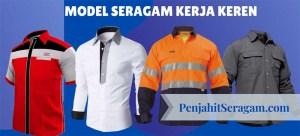 header seragam kerja keren
