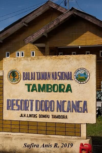 balai taman nasional tambora