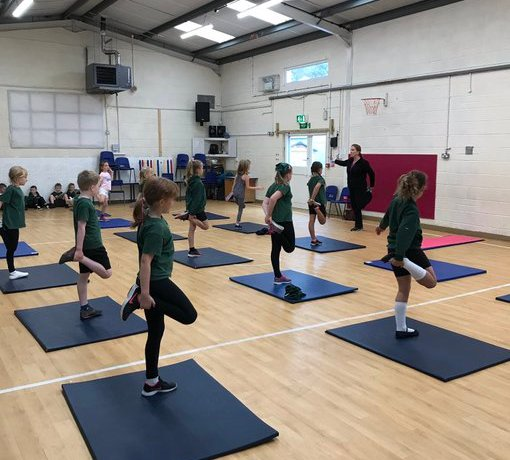 Fitness Fanatics in Year 3/4!