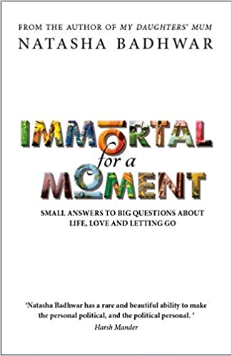 Immortal for a Moment: Small Answers To Big Questions About Life, Love And Letting Go