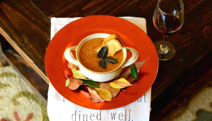 Oven Roasted Tomato Soup