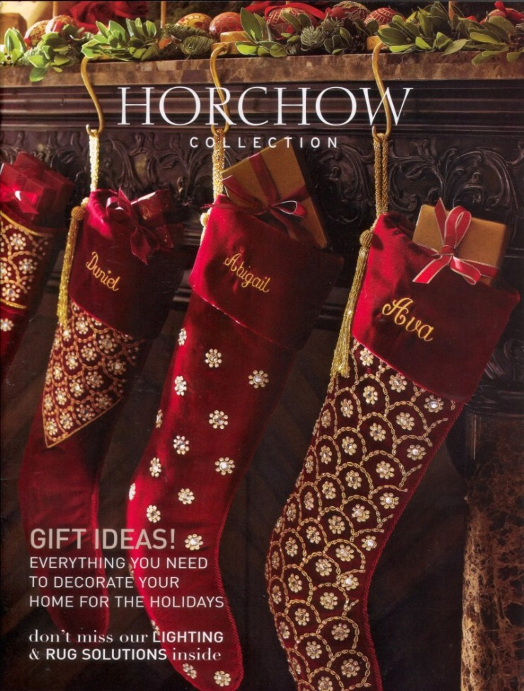 Horchow-2009-Holiday-Cover