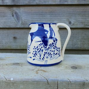 Agapanthus And Swallow Milk Jug