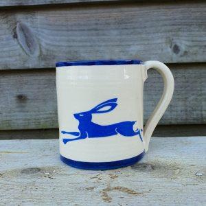 Running Hare mug