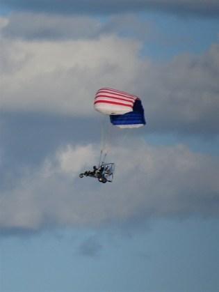 Paraglider in June