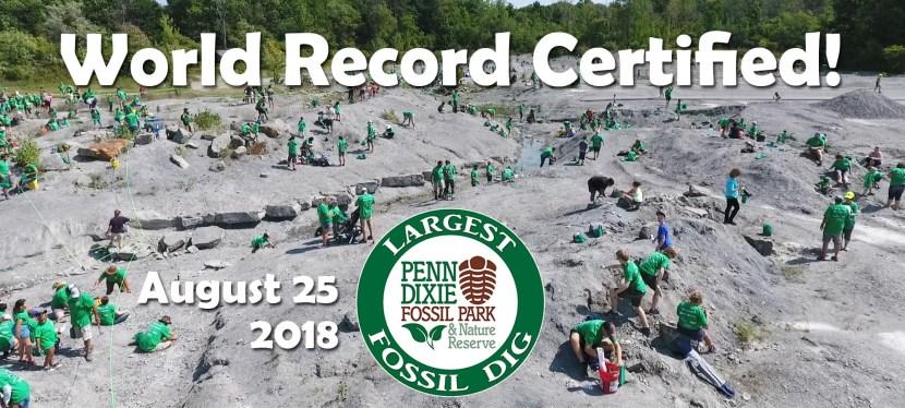 Penn Dixie Claims World Record