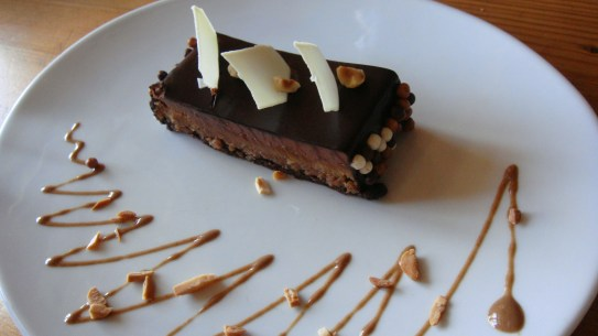 Chocolate mousse cake, by Penne Cole
