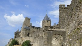 Carcassonne fortress, by Penne Cole
