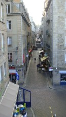 Cobblestoned streets of Saint-Malo, by Penne Cole