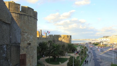 Saint-Malo city walls, by Penne Cole