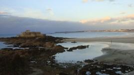 Saint-Malo coastline, by Penne Cole