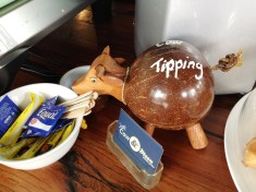 With such a cute tip jar, wouldn't you leave a tip?