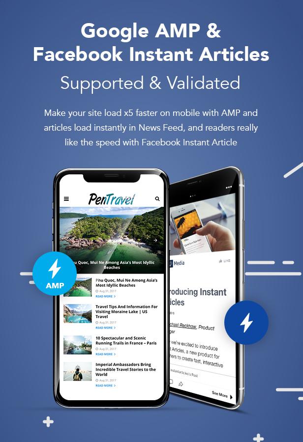 PenNews - Multi-Purpose AMP WordPress Theme - 7