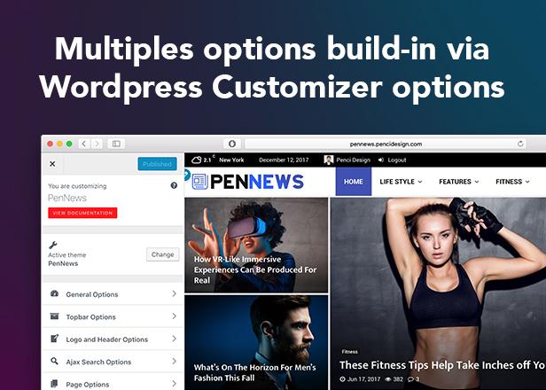 PenNews - Multi-Purpose AMP WordPress Theme - 14