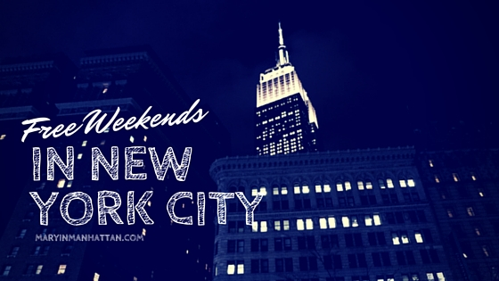 Free NYC Adventures for People Who Can't Stop Eating [April 21-23]
