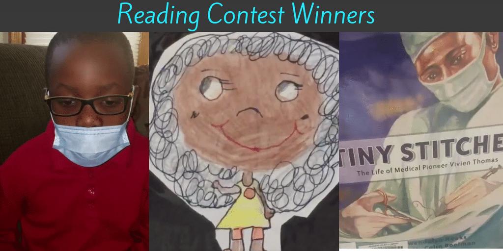 Congratulations Reading Contest Winners