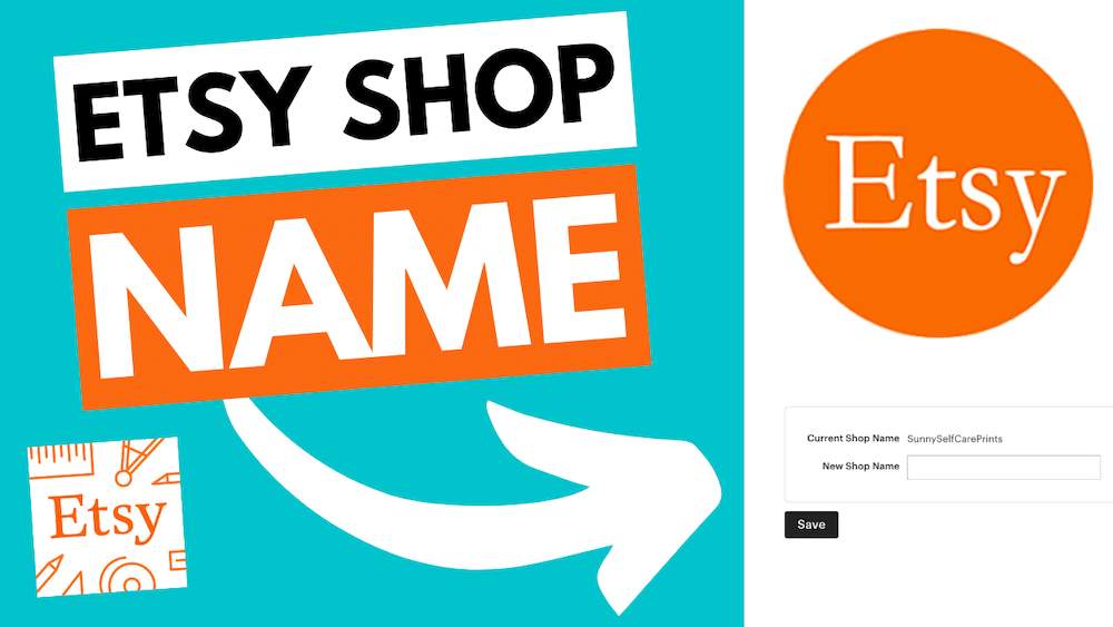changing your etsy shop name