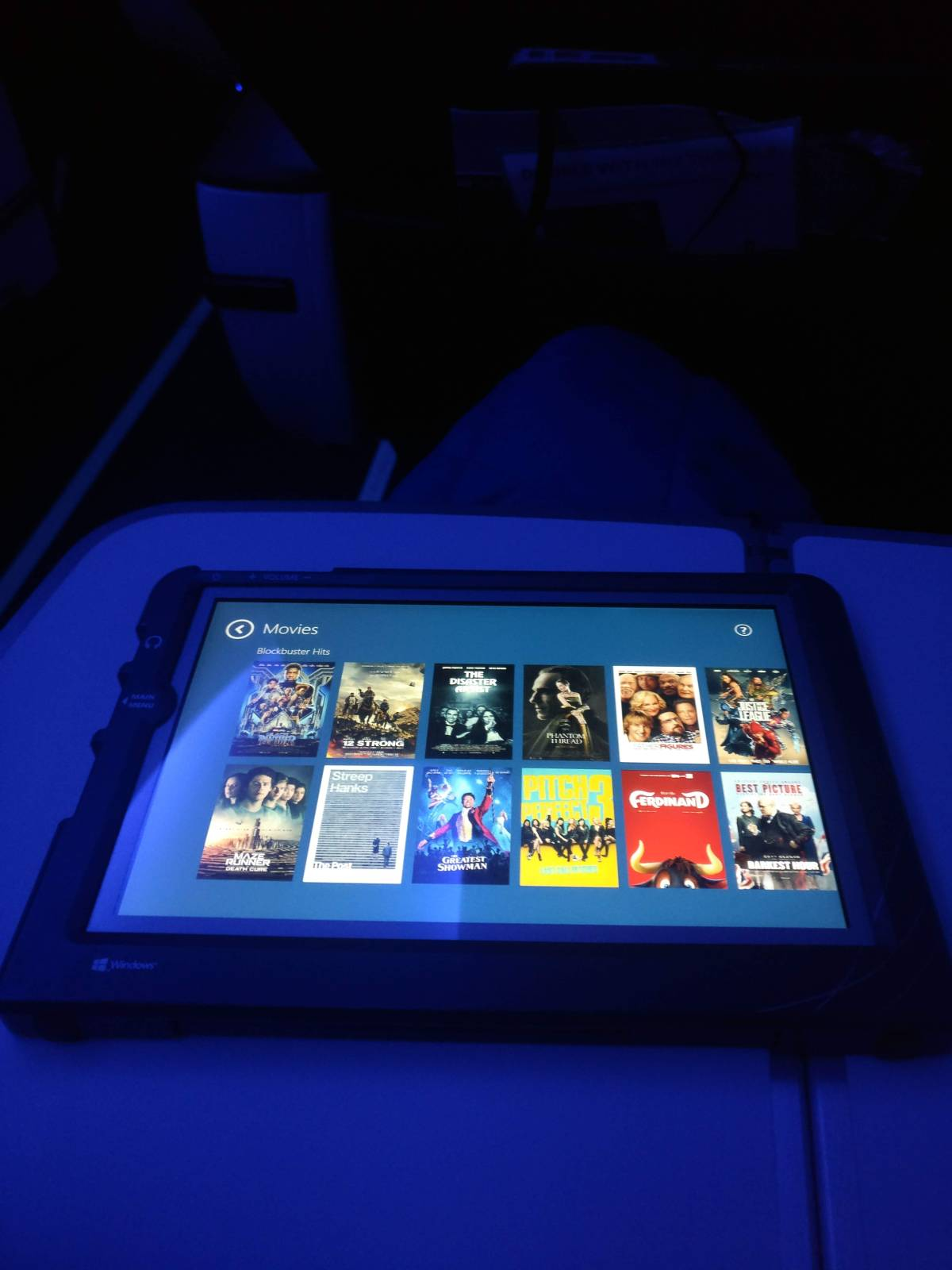 Free entertainment tablet!
