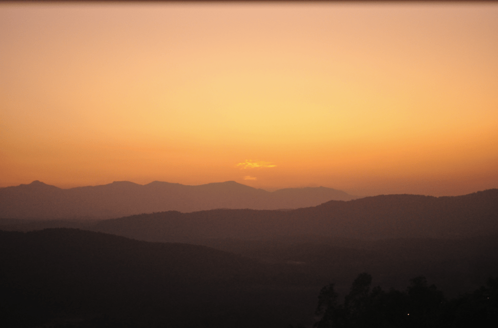 Raja's Seat (Sunset Point), Coorg, India, 2011