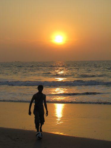 Calingute Beach, Goa, India, 2008