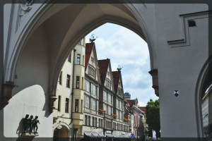 Entry to Marienplatz, Munich, Germany