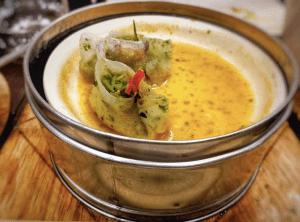 Spicy Jade dimsums Yum Yum Cha Gurgaon