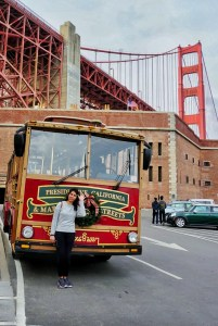 With Hornblower Classic Cable Cars Tour Company in San Francisco