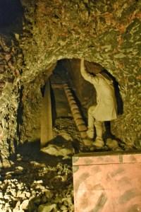 Inside the caves hallein, salzburg, austria