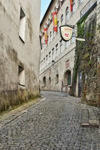 Hike to hohensalzburg fortress, salzburg, austria