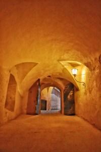 Inside the Hohensalzburg fortress, Salzburg, Austria