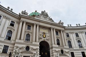 Franciscvs Iosephvs Hofburg in Vienna, Austria