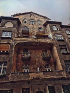 Jewish Quarters in Budapest, Hungary