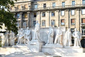 Kossuth Square in Budapest, Hungary