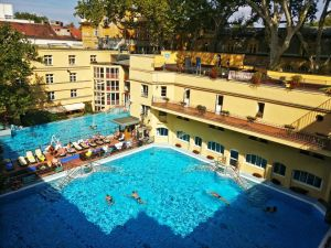 Luckas bath in Budapest, Hungary