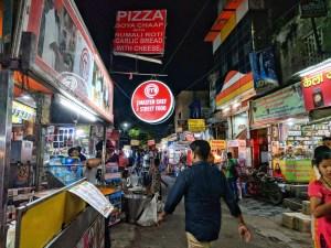 Street food of Agra at Sadar Bazar
