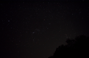 Stars at night in Mahabaleshwar