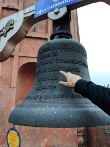 Bell at Gobindgarh Fort