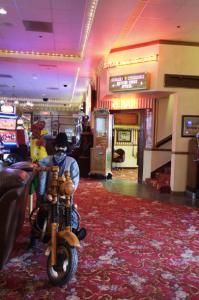 ongstreet Inn and Casino hotel lobby