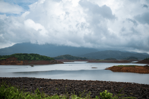 The serene waters of Banasura Sagar Dam