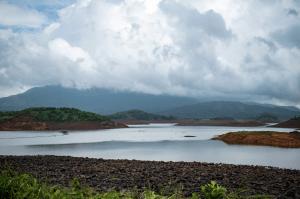 The serene waters of Banasura Sagar Dam